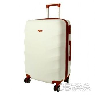 Чемодан сумка Exclusive (большой) снежный  Комплект Exclusive 6881 – це линия . Киев, Киевская область. фото 1