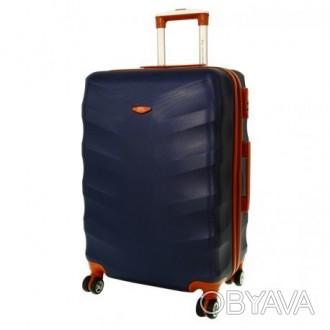 Чемодан сумка Exclusive (большой) темно-синий  Комплект Exclusive 6881 – це ли. Киев, Киевская область. фото 1