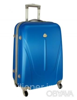 Чемодан сумка 882 XXL (большой) sky blue  Чемодан сумка 882 XXL из поликарбона. Киев, Киевская область. фото 1