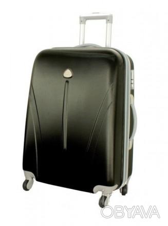 Чемодан сумка 882 XXL (большой) черный  Чемодан сумка 882 XXL из поликарбоната. Киев, Киевская область. фото 1