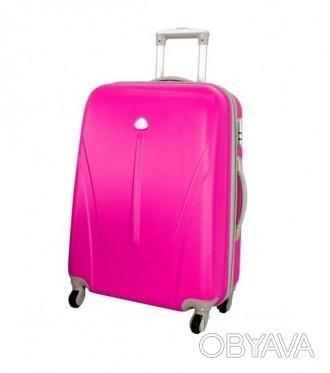 Чемодан сумка 882 XXL (большой) розовый  Чемодан сумка 882 XXL из поликарбонат. Киев, Киевская область. фото 1