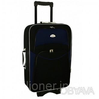 Чемодан сумка 773 (большой) черно-т.синий  Спецификация: - Материал: Cordura . Киев, Киевская область. фото 1