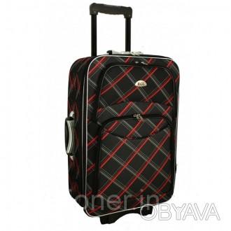 Чемодан сумка 773 (большой) черная-крата  Спецификация: - Материал: Cordura 8. Киев, Киевская область. фото 1