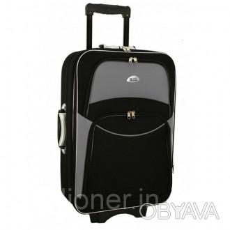 Чемодан сумка 773 (большой) черно-серый  Спецификация: - Материал: Cordura 80. Киев, Киевская область. фото 1