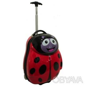Детский чемодан сумка RGL солнышко