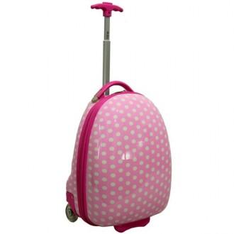 Детский чемодан сумка RGL розовый. Киев. фото 1
