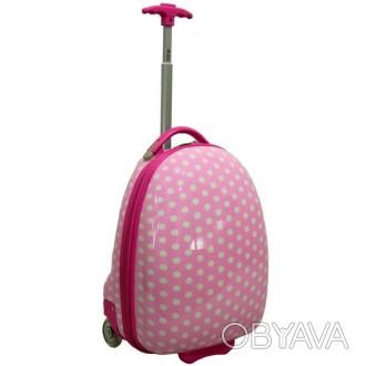 Детский чемодан сумка RGL розовый