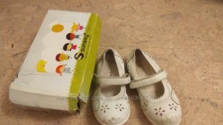 Туфельки для девочки Sunway 29 размер, стелька 17,5 см. Киев. фото 1
