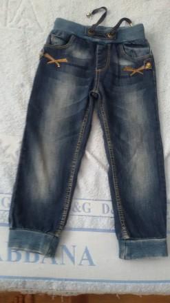 Стильные джинсы A-yugi Kids для девочки на рост 104см, 4 года Турция. Київ. фото 1