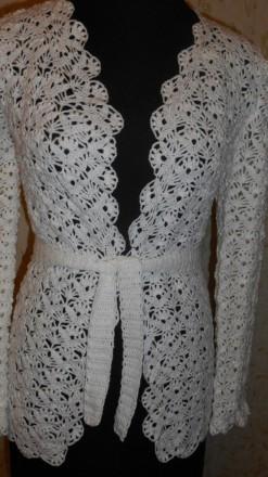 Продам женскую вязаную кофту.. Краматорск. фото 1