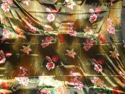 Ткань атлас искуственный. Киев. фото 1