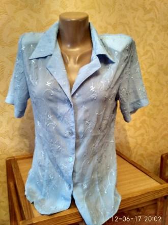 Блуза летняя женская. Николаев. фото 1