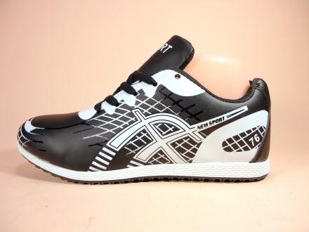 Лёгкие и удобные женские кроссовки. Черные и синие. Для бега. Размер 36-41.. Хмельницкий. фото 1