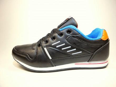Кроссовки женские Bonote для бега и тренировок. Черные и синие. Размер 36-41. Хмельницкий. фото 1