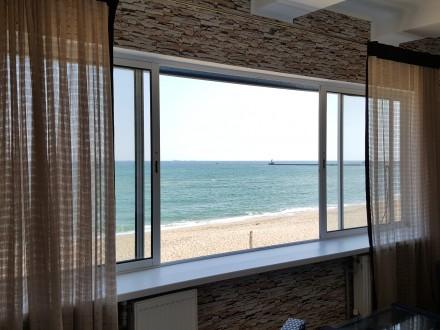 Дом на берегу моря (1 линия), дача с панорамным видом на море, Совиньон/Посейдон. Одесса. фото 1