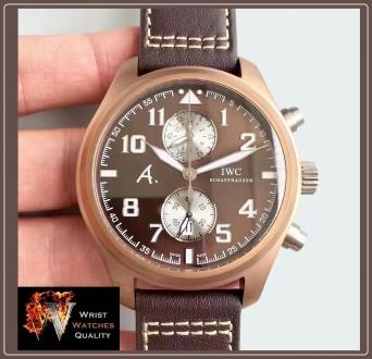 IWC Schaffhausen - Pilot's Watch Edition Antoine De Saint Exupery The Last Fligh. Киев, Киевская область. фото 3