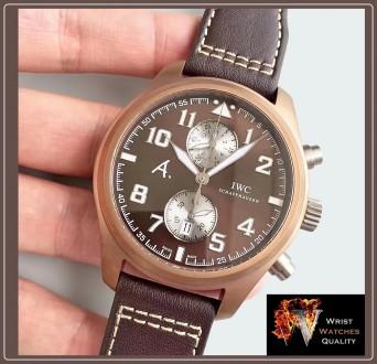 IWC Schaffhausen - Pilot's Watch Edition Antoine De Saint Exupery The Last Fligh. Киев, Киевская область. фото 4