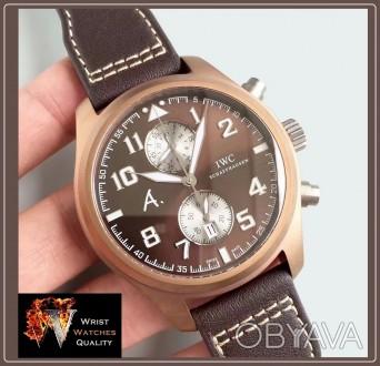 IWC Schaffhausen - Pilot's Watch Edition Antoine De Saint Exupery The Last Fligh. Киев, Киевская область. фото 1