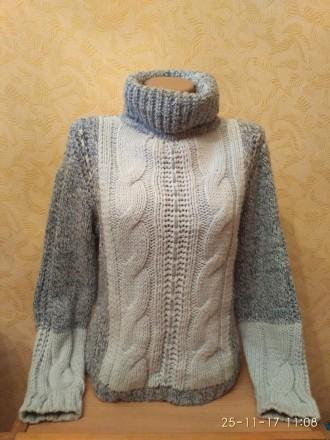 Теплый женский свитер. Николаев. фото 1