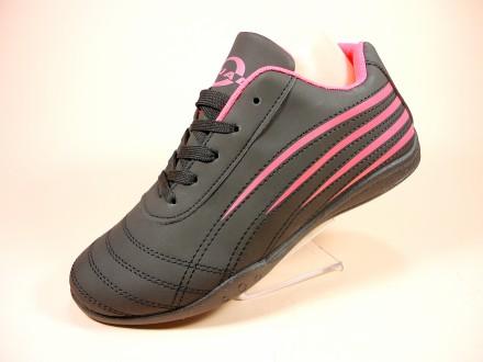 Элегантные, черные, женские кроссовки для бега и тренировок. Размеры 36-41.. Хмельницкий. фото 1