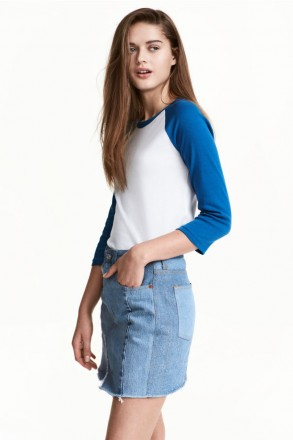 Реглан H&M на девочку 12-14 лет/158-164 см. Орехов. фото 1