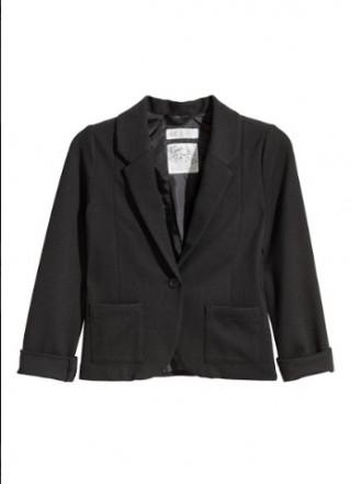Пиджак H&M на девочку 8-9 лет/134 см. Орехов. фото 1