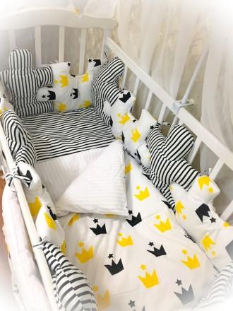 Комплект детского постельного белья. Кропивницкий. фото 1