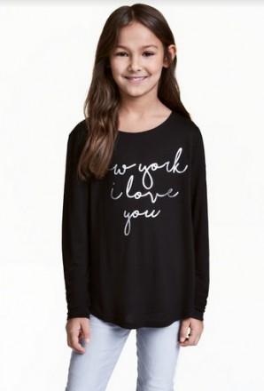 Реглан H&M на девочку 14+ лет/170 см. Орехов. фото 1