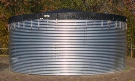 Резервуар стальной для жидкостей. Киев. фото 1