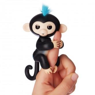 Интерактивная обезьянка на палец аналог Fingerlings monkey. Новомосковск. фото 1