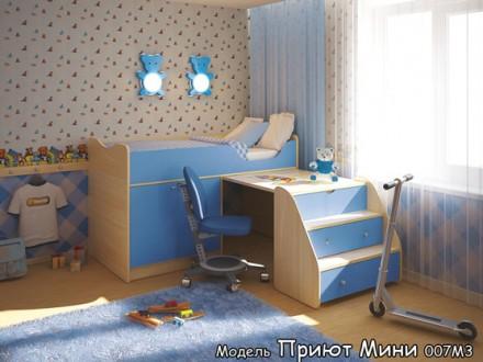 Кровать чердак для детей. Луганск. фото 1