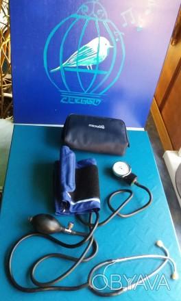 Медицинский тонометр для измерения артериального давления,в прекрасном состоянии. Кременчуг, Полтавская область. фото 1