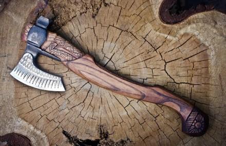 Сокира Перуна, топор викинга, уникальная ручная работа. Скадовск. фото 1