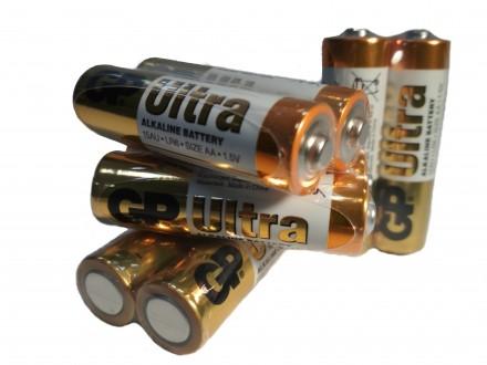 Щелочные батарейки GP ULTRA LR 6 AA 1,5 V. Купянск. фото 1