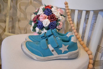 Ботинки Alive на девочку 32 размер. Орехов. фото 1