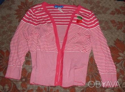 Кофточка блузка для девочки 9-12 лет