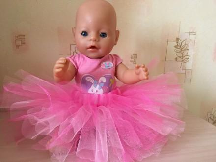 Фатиновая юбка для беби борн. Ваша куколка будет модной, нарядной и стильной, а . Киев, Киевская область. фото 2