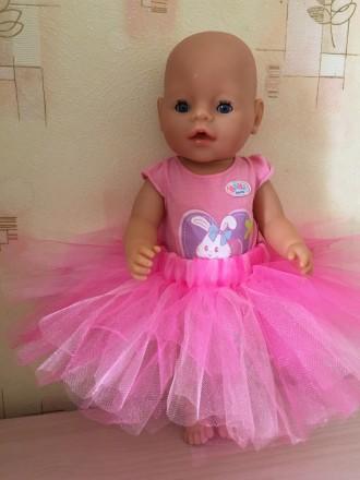 Фатиновая юбка для беби борн. Ваша куколка будет модной, нарядной и стильной, а . Киев, Киевская область. фото 3