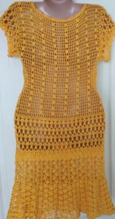 Платье ручной работы ,связанное крючком. Черкассы, Черкасская область. фото 3