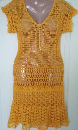 Платье ручной работы ,связанное крючком. Черкассы, Черкасская область. фото 2