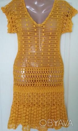 Платье ручной работы ,связанное крючком. Черкассы, Черкасская область. фото 1