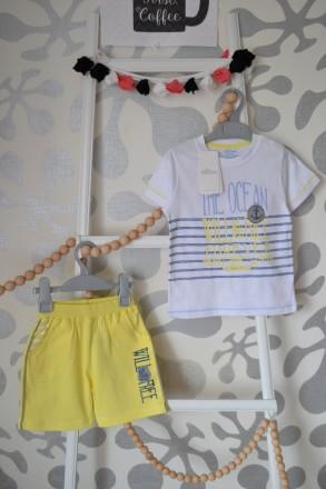 Комплект AZIZ bebe на мальчика от 12 до 24 месяцев. Орехов. фото 1