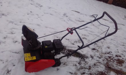 сніговідкидач бензиновий брікстон.. Коломыя. фото 1