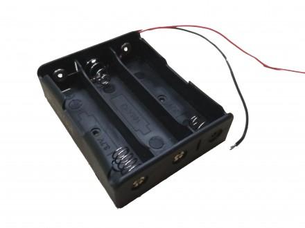 Тройной отсек для аккумуляторов 18650. Купянск. фото 1