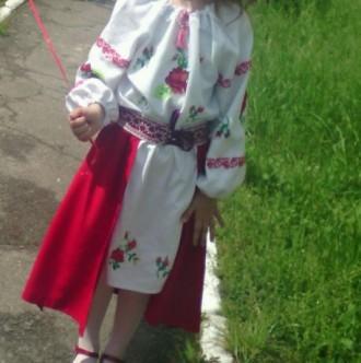 Плаття з довгим рукавом Розраховано на ріст 112-132 см Якщо потрібно зроблю то. Ковель, Волынская область. фото 3