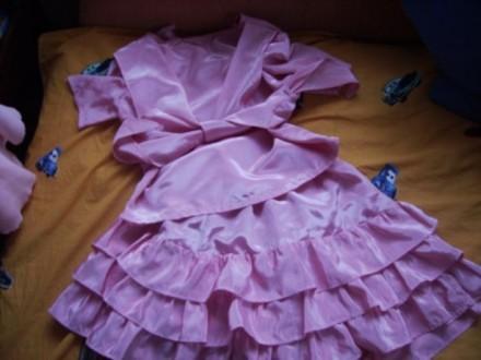 Рожевий костюм Румба 4-8 років. Ковель. фото 1