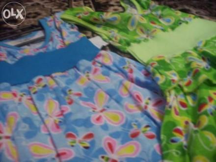 Платье 100% хлопок- раздные расцветки. Ковель. фото 1