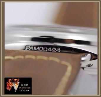 OFFICINE PANERAI - Radiomir PAM 424 California 3 Days Acciaio Edition - 47mm Re. Киев, Киевская область. фото 9