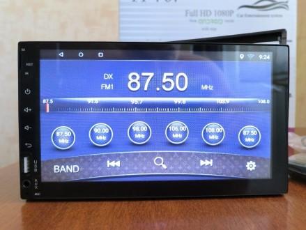 Автомагнитола 2 din Android 6 2дин с GPS WiFi 4 ядра Пионер магнітола. Суми. фото 1