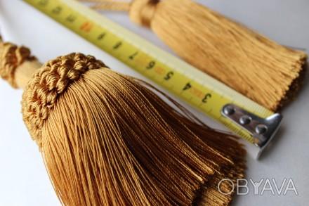 Кисть для штор маленькая декоративная 300грн за шт, самая маленькая 100грн за шт. Днепр, Днепропетровская область. фото 1